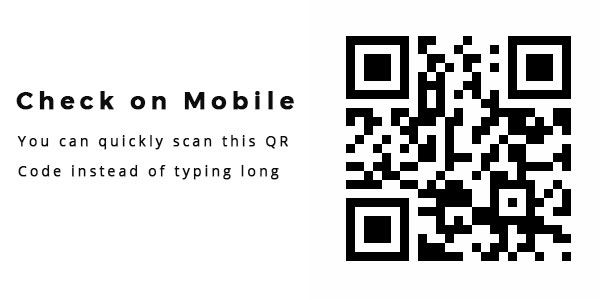 scan QR on mobile